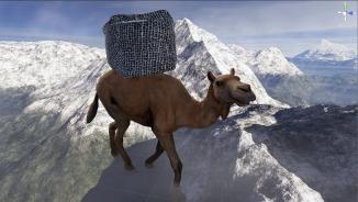 'The Camel', nicknamed: 'Nietzsche' - Emanuel Tomozei