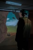 VR installation, Emanuel Tomozei