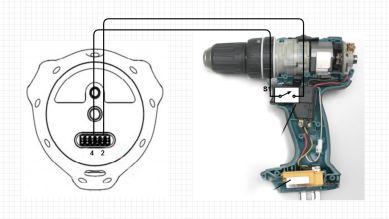 Vive tracker - drill schematic, Emanuel Tomozei